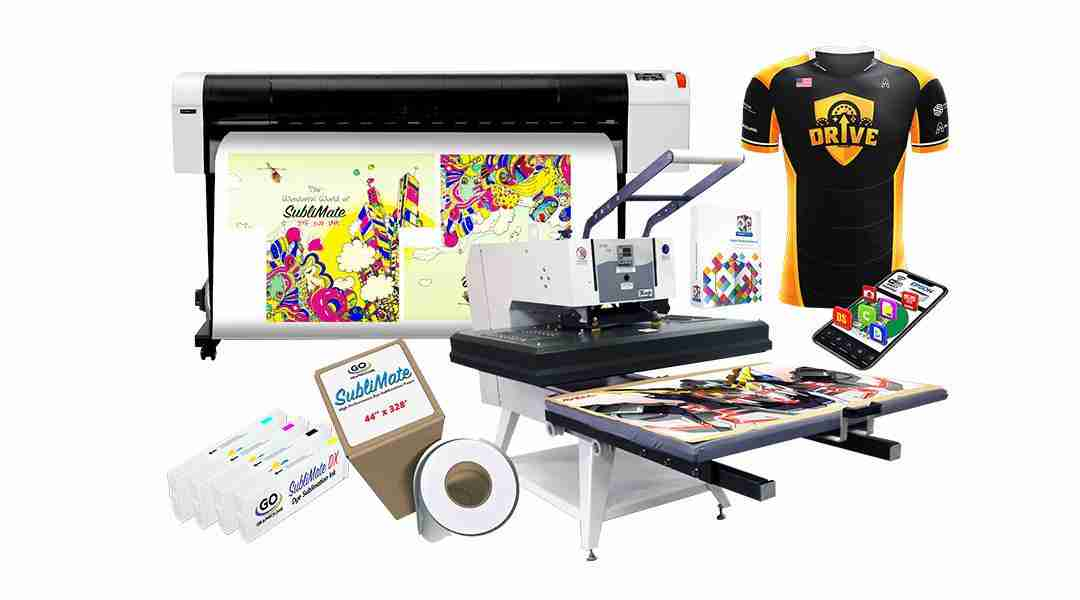The Best 44-inch Dye Sub Bundle–Mutoh RJ-900X and Mogk PTM-110–Only $14,495