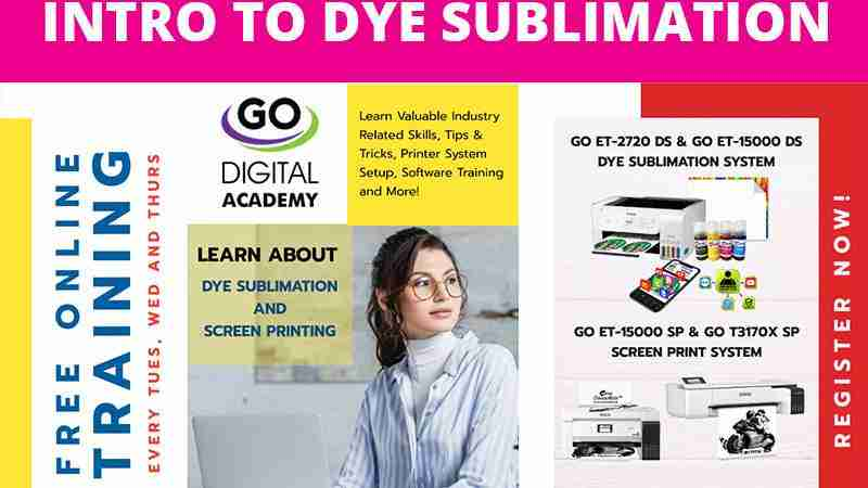 GO Digital Academy: Intro to Dye Sublimation