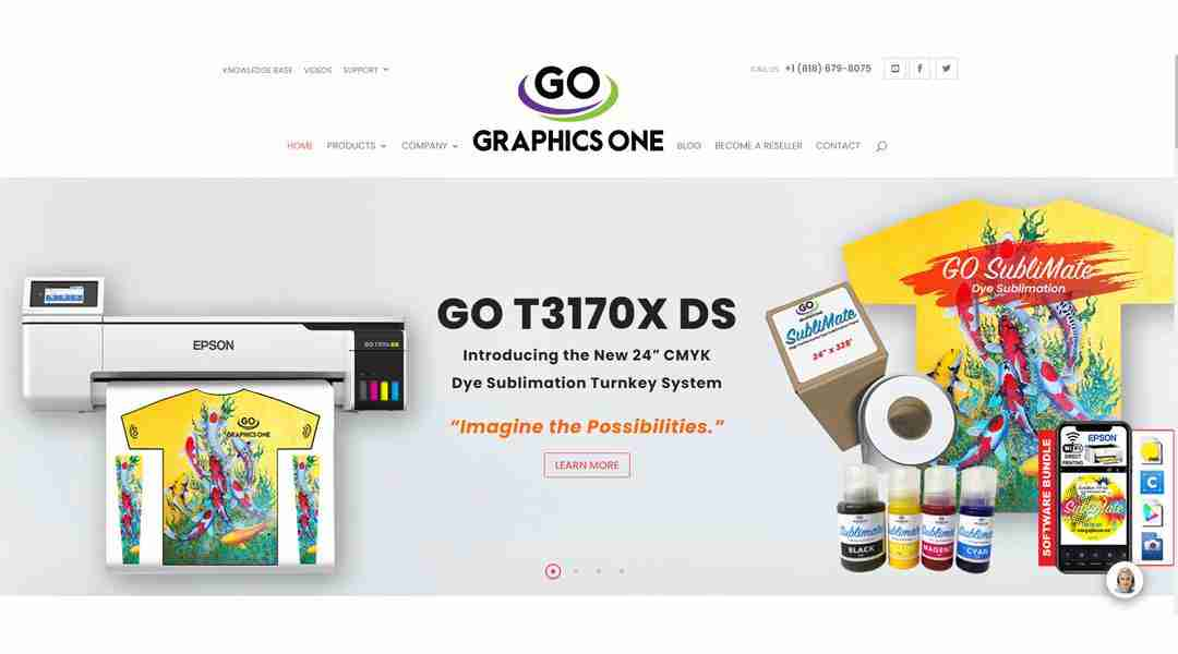 Graphics One Launches Newly ReDesigned Website–www.graphicsone.com