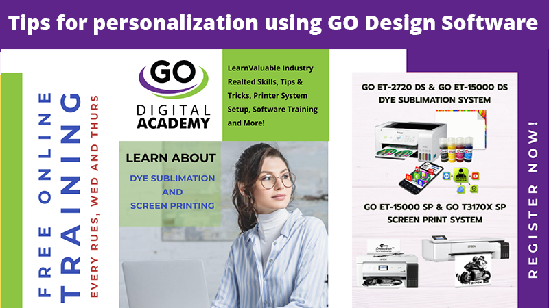 GO Digital Academy: Intro to GO Design Pro Dye Sub App