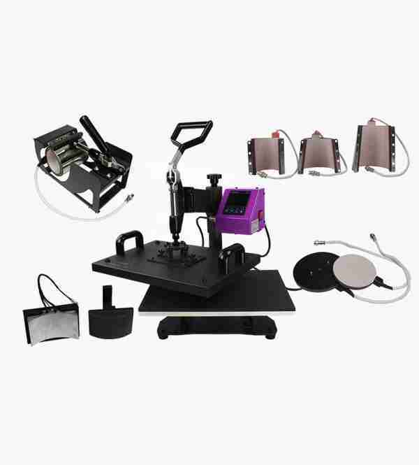 GO Xpress 8-in-1 Combo Multi Function Heat Press