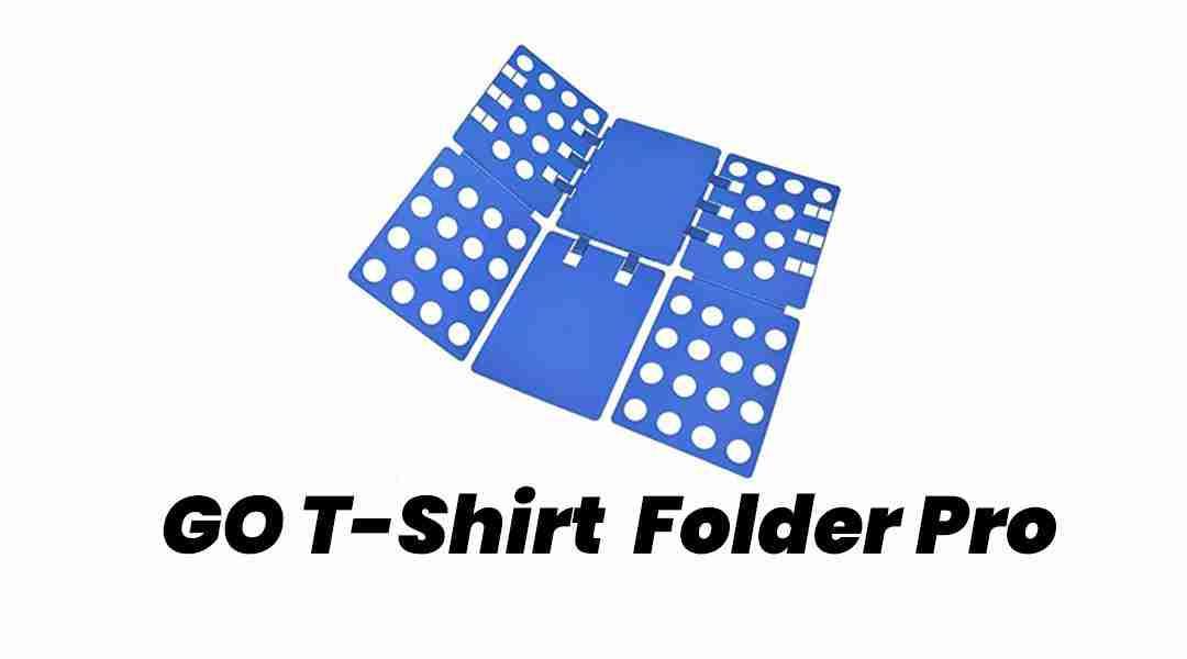 GO T-shirt Folder Pro–Quick and Professional Folding of Garments